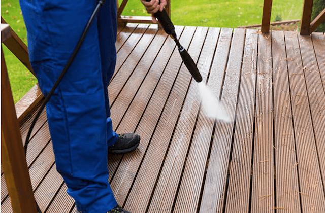 mckinney deck cleaning