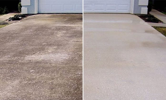 mckinney driveway cleaning