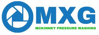 mxg mckinney pressure washing logo